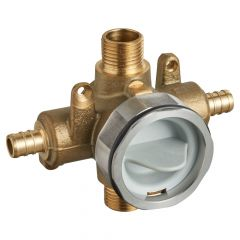 American Standard - Flash Pressure Balance Rough-in Valve With Pex Inlets Universal Outlets - Crimp Connections