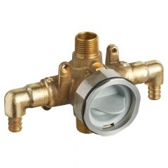 American Standard - Flash Pressure Balance Rough-in Valve With Pex Inlet Elbows Universal Outlets - Crimp Connections