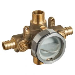 American Standard - Flash Pressure Balance Rough-in Valve With Pex Inlets Universal Outlets - Cold Expansion Connections  With Screwdriver Stops