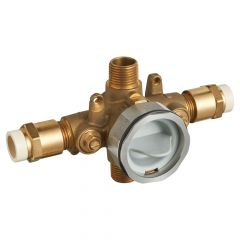 American Standard - Flash Pressure Balance Rough-in Valve With CPVC Inlets Universal Outlets With Screwdriver Stops