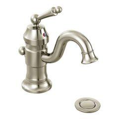 Moen - Premium Waterhill Series Bathroom Faucet Sinlge Handle