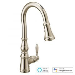 Moen - U by Moen - Weymouth Voice-Activated Smart Kitchen Faucet