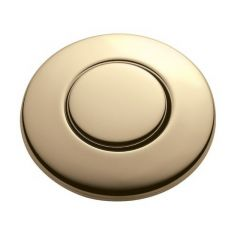 ISE - Accessory Button - French Gold Sink Top Air Switch Accessory