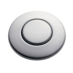 ISE - Accessory Button - Satin Nickel Sink Top Air Switch Accessory