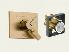 Delta - Vero Series Trim + Rough - In Valve Combo Package Single Handle Dual - Function Valve Only