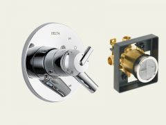 Delta - Trinsic Series Trim + Rough - In Valve Combo Package 17 Series - Valve