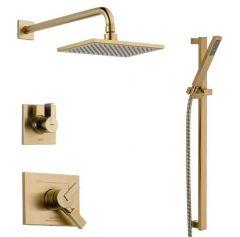Delta - Vero Series Shower And Handheld Shower Trim Kit Single Handle