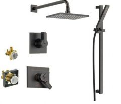 Delta - Vero Series ShoShower And Handheld Shower Trim Combo Package Single Handle