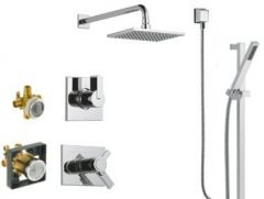 Delta - Vero Series Shower And Handheld Shower Trim Combo Package Single Handle