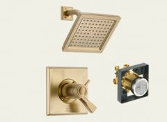 Delta - Dryden Series Trim + Rough - In Valve Combo Package Shower Only - Thermostatic