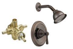 Moen - Kingsley Series PosiTemp - Single handle - Combo 2.5gpm - Shower Only