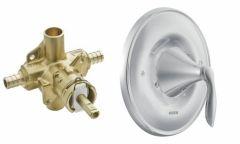 Moen - Eva Series PosiTemp - Single handle - Combo Shower Valve Only