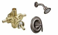 Moen - Eva Series PosiTemp - Single handle - Combo 1.75gpm - Shower Only