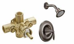 Moen - Eva Series PosiTemp - Single handle - Combo 2.5gpm - Shower Only