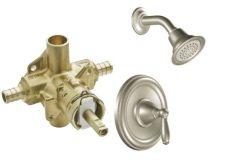 Moen - Brantford Series PosiTemp - Single Handle 1.75gpm - Shower Only