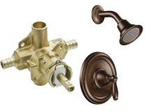 Moen - Brantford Series PosiTemp - Single handle - Combo 2.5gpm - Shower Only