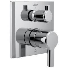 Delta - Pivotal 2-Handle Monitor 14 Series Valve Trim with 3-Setting Diverter