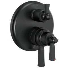 Delta - Dorval Traditional 2-Handle Monitor 17 Series Valve Trim with 3 Setting Diverter