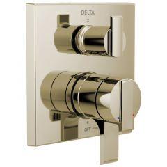 Delta - Angular Modern Tesla / Zura / Vero / Dryden / Ara / Ashlyn Valve Trim w/ 3-Setting Diverter