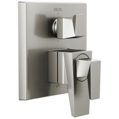 Delta - Trillian Two-Handle Monitor 17 Series Valve Trim Only with 6-Setting Diverter