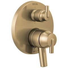 Delta - Contemporary Coordinates with Compel and Trinsic Valve Trim w/ 6-Setting Diverter