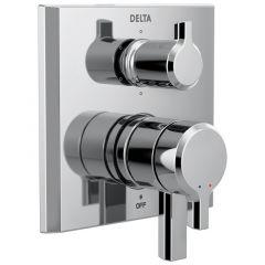 Delta - Pivotal 2-Handle Monitor 17 Series Valve Trim With 6-Setting Diverter