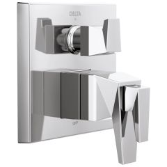 Delta - Trillian Two-Handle Monitor 17T Series Valve Trim Only with 3-Setting Diverter
