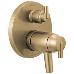 Delta - Contemporary Coordinates with Compel and Trinsic Valve Trim w/ 3-Setting Diverter