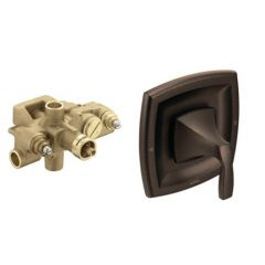 Moen - Voss Moentrol Valve Only Combo with CC Valve inc. check stops