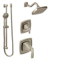 Moen - Voss Series Vertical Spa Moentrol Multi-function Shower Head/Hand Shower w/Diverter Combo