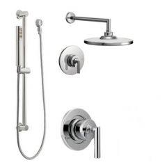 Moen - Arris Vertical Spa Posi-Temp Shower Head/Hand Shower Combo - Trim Only