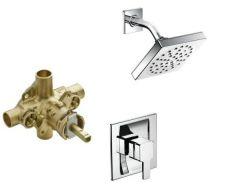 Moen - Premium 90 Degree Series PosiTemp - Shower Only - Combo Single Handle