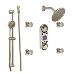 Moen - Premium IO/DIGITAL Series Vertical Spa - Shower Thermostatic - Electronic