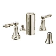 Moen - Weymouth Series Bidet Faucet Two-Handle