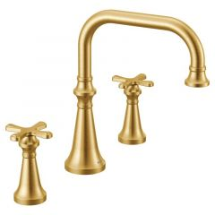 Moen - Colinet Two-Handle High Arc Roman Tub Faucet with Cross Handles