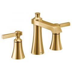 Moen - Flara Two-Handle Widespread High Arc Bathroom Faucet with Lever Handles