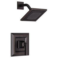 American Standard - Town Square S Shower Only Trim Kit with Cartridge - 2.5 GPM - LESS VALVE