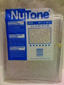 Nutone - Fan Accessories Replacement Filter Aluminum