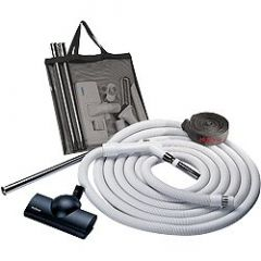 Nutone - Central Vacuum Systems Central Vacuum Kits Air Turbine Hose and Tool Kit