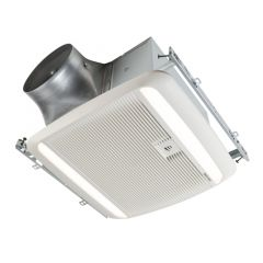 Broan - ULTRA GREEN ZB Series 110 CFM Multi-Speed Ceiling Bathroom Exhaust Fan with LED Light and Humidity Sensing ENERGY STAR