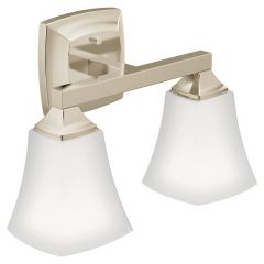 Moen - Voss Series Two Globe Bath Light